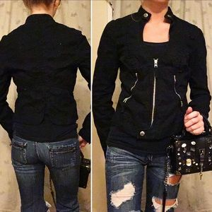 Armani Exchange black blazer